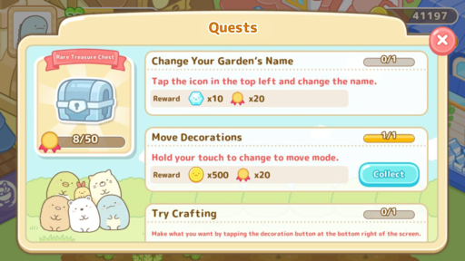 Sumikkogurashi Farm 1.0.3 screenshots 15