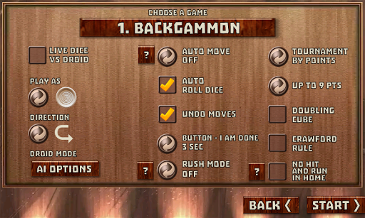 Backgammon Pack : 18 Games android2mod screenshots 3
