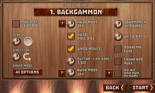 Backgammon Pack : 18 Games 6.247 screenshots 3