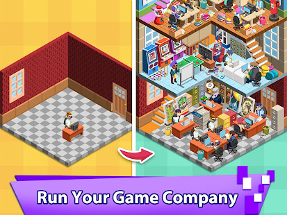 Video Game Tycoon - Idle Clicker & Tap Inc Game 3.3 Screenshots 1