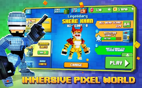 Super Pixel Heroes 2020 Mod Apk 1.2.223 (Unlimited Money/Diamonds) 8