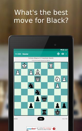 iChess - Chess Tactics/Puzzles 5.2.13 screenshots 2