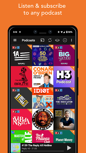 Podcast Addict 2020.18 Screenshots 3