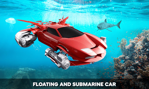 Floating Underwater Car Simulator  screenshots 7