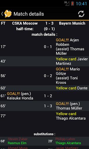 LiveScore Football  screenshots 3