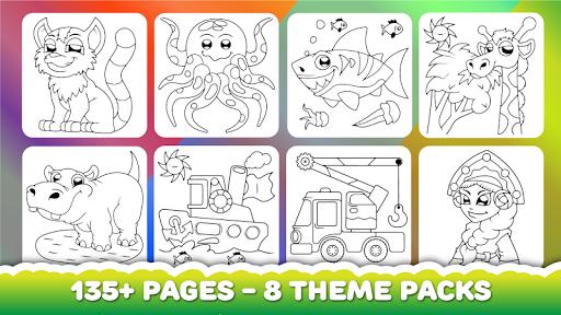 Coloring book for kids apklade screenshots 2