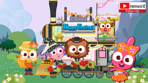 Papo Town Happy Festival  screenshots 11
