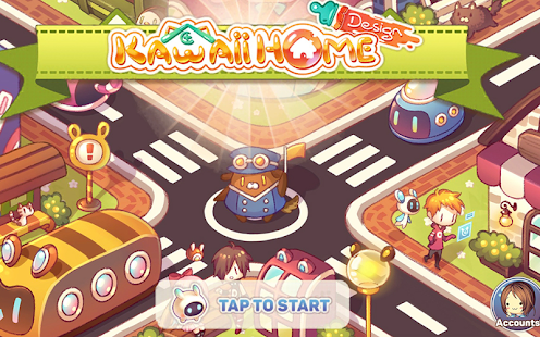 Kawaii Home Design - Decor & Fashion Game Screenshot