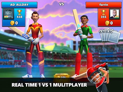 Stick Cricket Live 21 - Play 1v1 Cricket Games Apkfinish screenshots 10