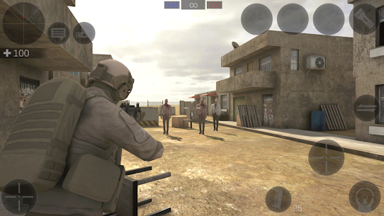 Zombie Combat Simulator Full Hileli Modlu Apk İndir 5