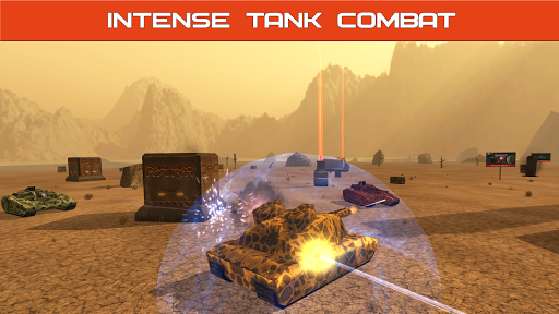 Tank Combat : Iron Forces Battlezone APK MOD – ressources Illimitées (Astuce) screenshots hack proof 1