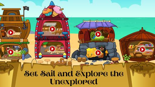 My Pirate Town - Sea Treasure Island Quest Games 1.4 Screenshots 1