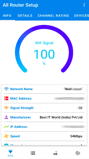 All Router Setup - Wifi Signal, Router Settings screenshots 2