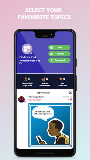 Quizefy u2013 Live Group, 1v1, Single Play Trivia Game  screenshots 5