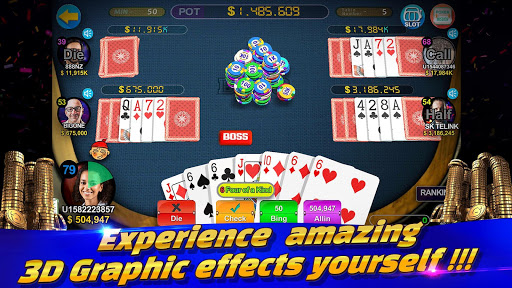 Boss Poker u2013 Texas Holdem Blackjack Baccarat  screenshots 7
