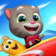 App Icon for Talking Tom Sky Run: The Fun New Flying Game App in United States Google Play Store