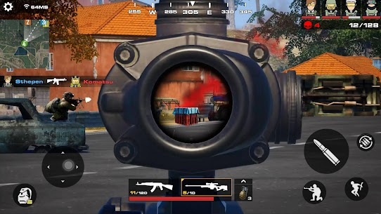 Commando Strike 2021: Free Fire FPS – Cover Strike 4
