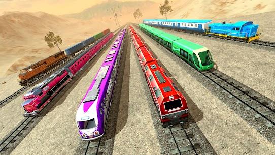 New Train Racing Game 2021 –Offline Train Games 3D 9