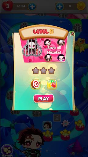 Nezuko Tanjiro Rescue Bubble Shooter 1.9 screenshots 8