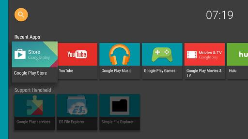 halauncher - android tv screenshot 2
