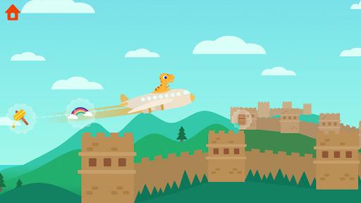 Dinosaur Plane - Plane piloting game for kids 1.1.0 screenshots 2