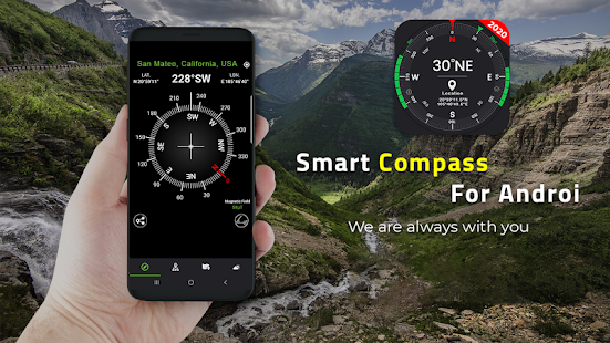 Digital Compass for Android 18.8 Screenshots 5