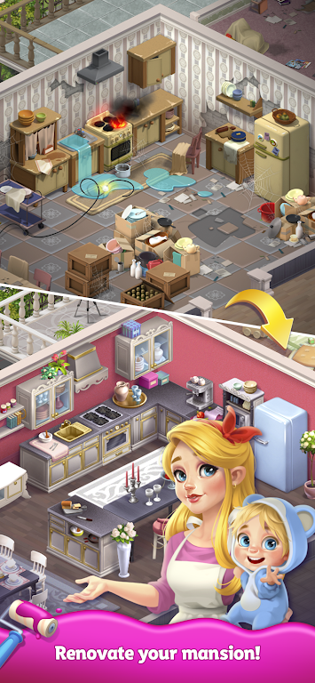 Merge Matters: Home renovation game with a twist poster 0