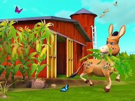 Donkey Life Simulator Games: Farm Fun Adventure