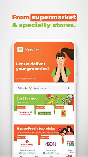 HappyFresh - Grocery & Food Delivery Online 3.39.1 Screenshots 2