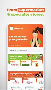 HappyFresh - Grocery & Food Delivery Online Screenshot
