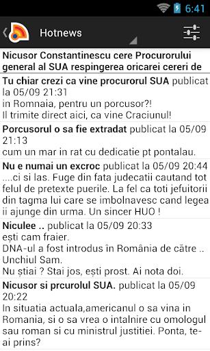 Stiri din Romania 4.9.0 Screenshots 5