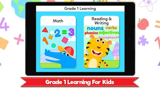 Grade 1 Learning Games for Kids - First Grade App  screenshots 17