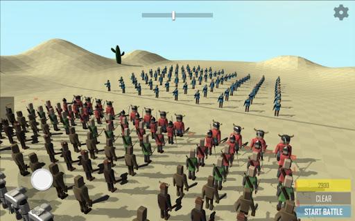 Stick Epic War Simulator RTS 1.4 screenshots 1