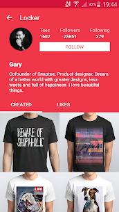 T-shirt design – Snaptee 6