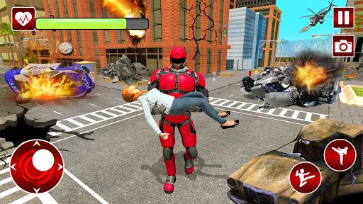Real Robot Speed Hero apkpoly screenshots 2