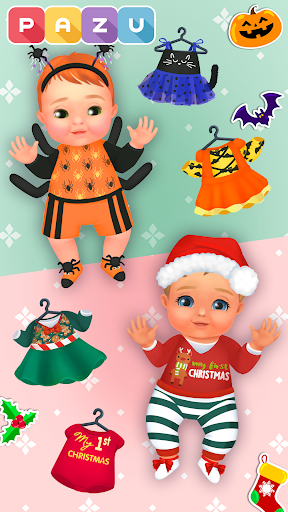 Chic Baby 2 - Dress up & baby care games for kids  screenshots 7