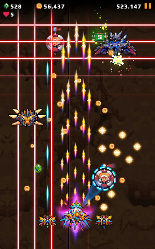 Galaxy Shooter : Falcon Squad Premium Varies with device screenshots 5