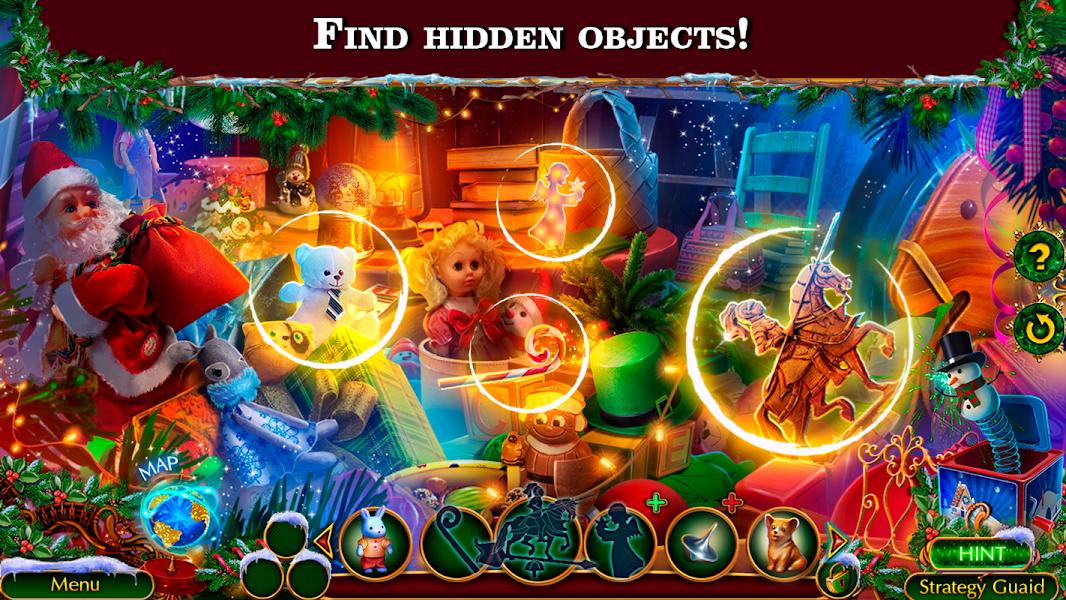 Hidden Objects - Christmas Spirit: Journey