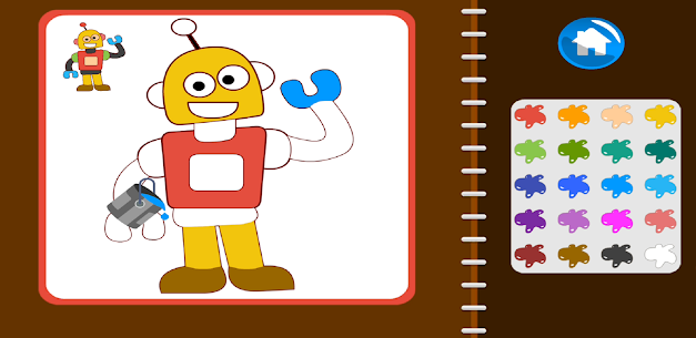 Painting Book – Learn Coloring Book Apk Download 4