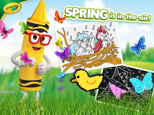 Crayola Create & Play: Coloring & Learning Games  screenshots 9
