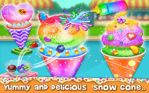 snow cone maker - yummy slushy summer food screenshot 3