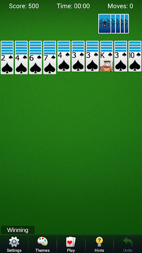 Spider Solitaire - Best Classic Card Games  screenshots 4