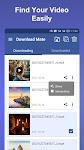screenshot of Video Downloader for Facebook, Save & Repost