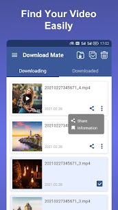 Download Mate v2.0.0 MOD APK – Photo & Video Downloader, Saver, Player 4