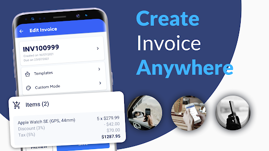 Invoice Maker MOD APK (VIP Unlocked) Download for Android 5