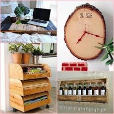 創造的な木材工芸のアイデアのおすすめ画像1