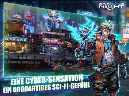 Battle Night: Cyber Squad-Idle RPG Screenshot