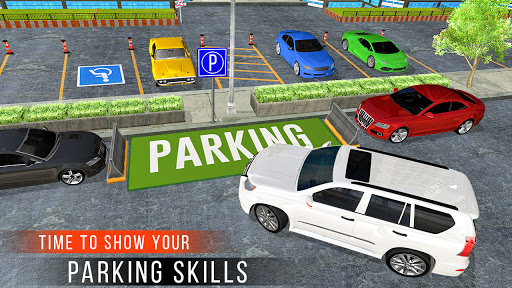 Real Prado Car Parking Games 3D: Driving Fun Games modavailable screenshots 9