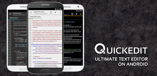 QuickEdit Text Editor Pro - Writer & Code Editor .APK Preview 0