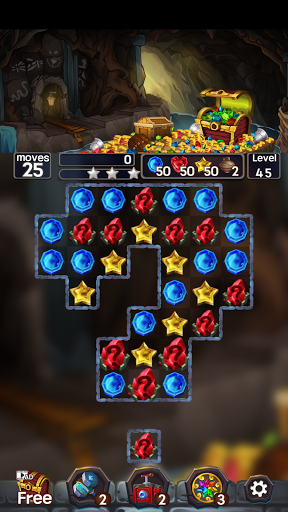 Jewel Mine Quest: Match-3 puzzle 1.1.7 screenshots 5